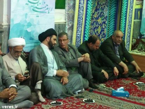 مراسم ارتحال امام (ره) در مسجد جامع شفت برگزار شد