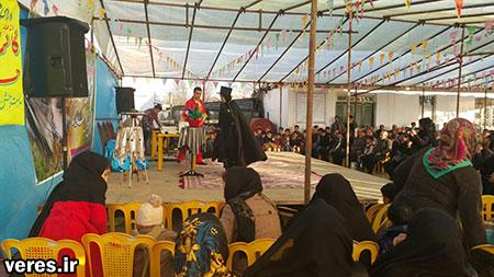 جشن بزرگ انقلاب در مرکز دهستان جیرده برگزار شد