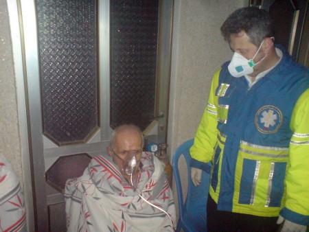 آتش سوزی در مرکز نگهداری سالمندای ملاسرای شفت