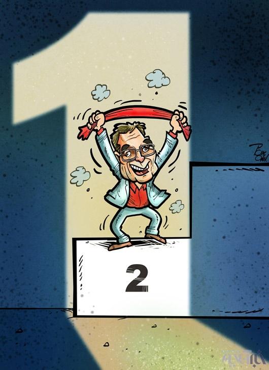 کاریکاتور/ برانکوی قهرمان!
