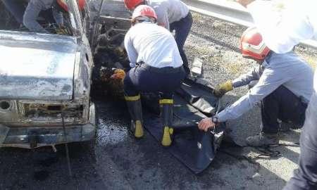 تصادف در محور شفت – فومن، دو کشته بر جا گذاشت