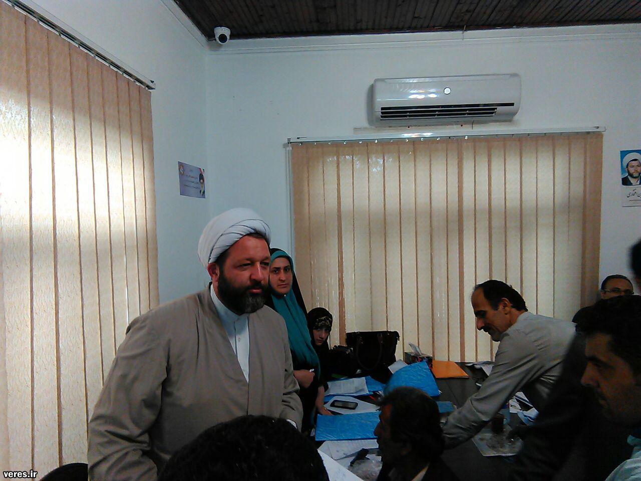 اولین دیدار مردمی افتخاری در شفت برگزار شد