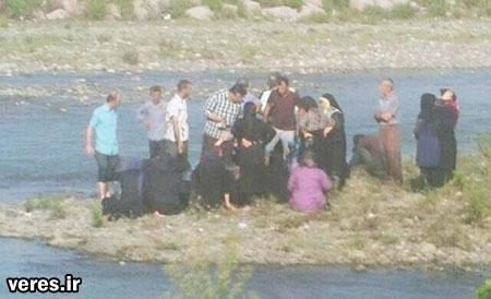 کشف جسد یک زن در رودخانه جیرده شفت