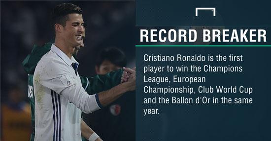 رکوردی دیگر برای فوق ستاره پرتغالی به ثبت رسید