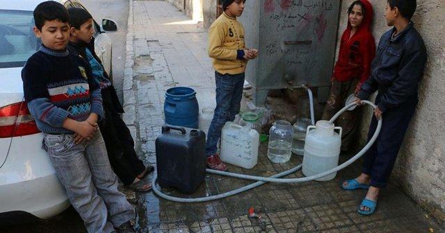 آب در دمشق جیره بندی شد