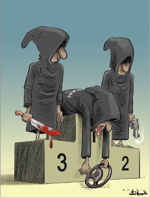 رکورد جدید ما ایرانیها در مردن!