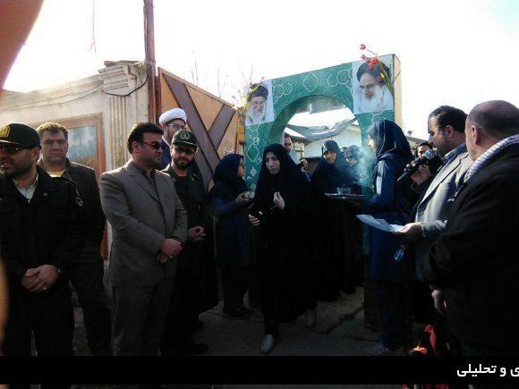 دانش آموزان دختر مدارس شفت به مناطق عملیاتی جنوب اعزام شدند