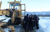 عملیات برفروبی در روستای مژدهه شهرستان شفت