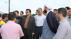 دیدار مسوولین شهرستان شفت با مردم دهستان ملاسرا