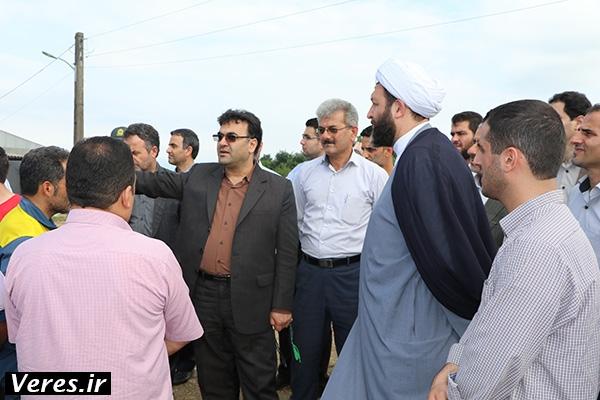 فرماندار شفت و حجت الاسلام افتخاری با مردم دهستان ملاسرا دیدار کردند