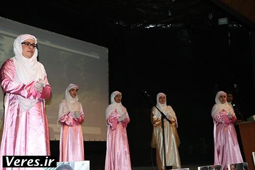 اجرای سرود پرشور ناشنوایان در شهرستان شفت