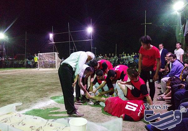 شهدای کوزان شفت قهرمان رقابت های جام رمضان تکرم شد