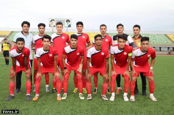 قهرمانی نیم فصل سپیدرود در لیگ برتر فوتبال جوانان گیلان