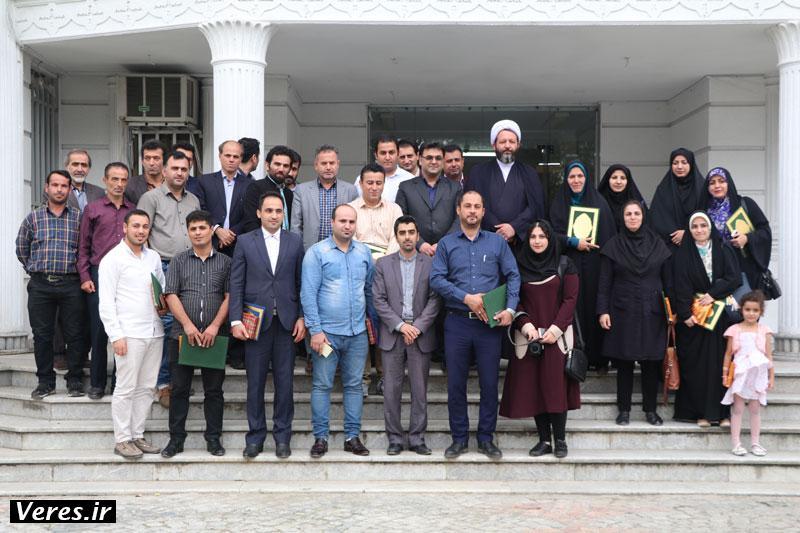 آیین تجلیل از خبرنگاران در شهرستان شفت برگزار شد