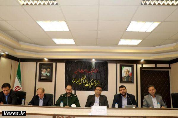 نشست شورای پدافند غیرعامل شهرستان شفت برگزار شد