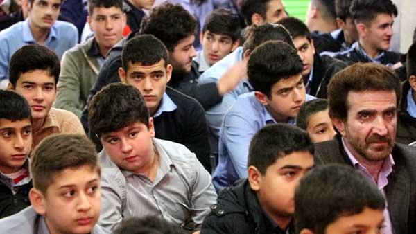یادواره شهدای دانش آموز در شفت برگزار شد