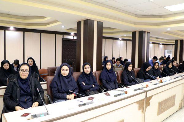 دیدار اعضای اتحادیه انجمن های اسلامی دانش آموزان شهرستان شفت با فرماندار