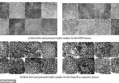 پژوهشگران با هوش مصنوعی اثر انگشت تقلبی ساختند