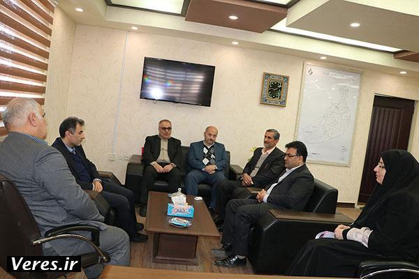 دیدار رییس سازمان جهاد کشاورزی گیلان با فرماندار شهرستان شفت