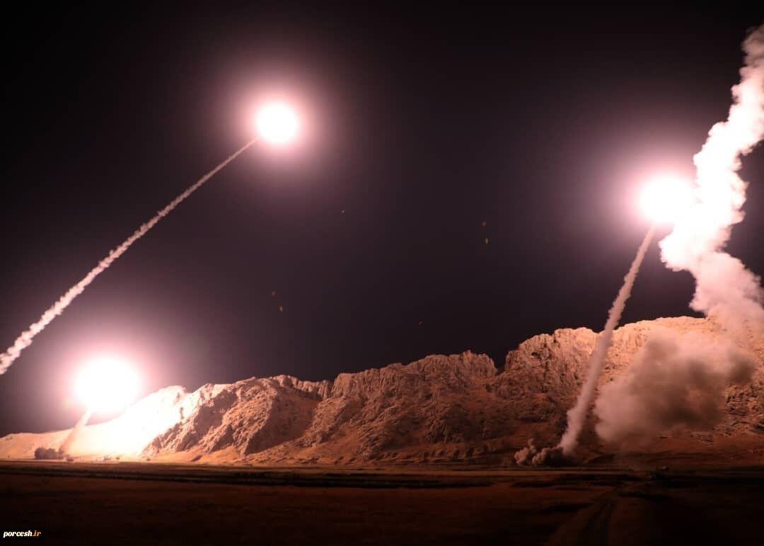 انتقام سخت با شلیک دهها موشک به پایگاه آمریکایی عینالاسد