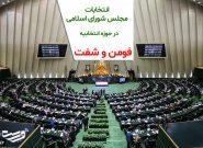 فهرست نهایی نامزدهای نمایندگی مجلس شورای اسلامی در فومن و شفت
