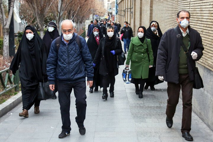 ایران ؛ ابتلای بیش از ٢۵٠٠ نفر به کرونا در یک روز